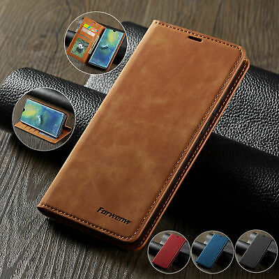 Case for iPhone6S 7 8 Plus XS Max Magntic Flip Wallet Leather Book Phone Cover~w