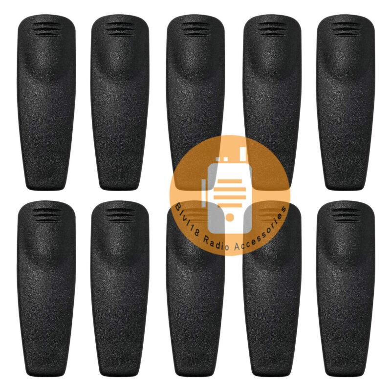 10Pack RLN6307A RDU4100 RDU4160d RDM2080D RDM2070d Belt Clip For Motorola Radio