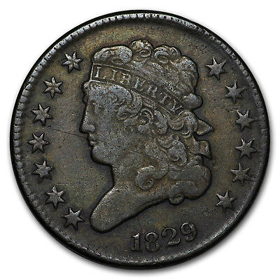 1829 Half Cent VF - SKU#24626