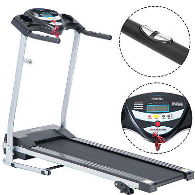 Merax Portable Treadmill Folding Electric Motorized Running Machine Fitness Home