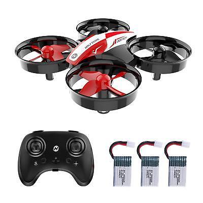 HS210 Mini Drone RC Nano Quadcopter 3D Flips Dart Adjusts 21 Min. Flight