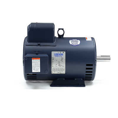 Leeson Electric Motor 132044.00 7.5 Hp 3450 Rpm 1-ph 230 Volt 184t Frame