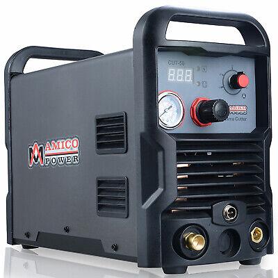 Cut-50 50 Amp Digital Air Plasma Cutter Ac 100-250 Voltage Cutting Machine