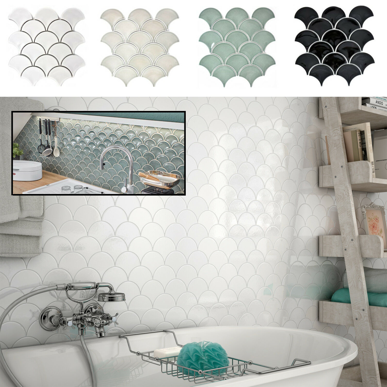 Detalles de Fan asignaturas mosaico baldosa cerámica Bad bañera ducha  azulejos espejo cocina-foggia- ver título original