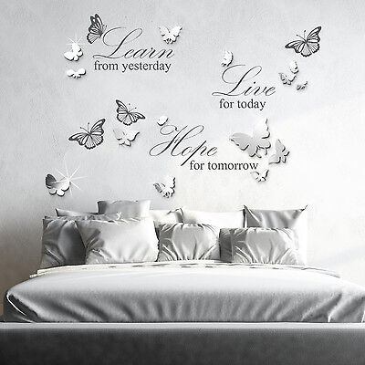 Mural Decoration Art Paper Home Wall Sticker Quote Decal Love, 100cm x 35cm