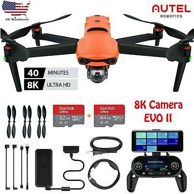 Autel Robotics EVO II 8K HD Video Camera Drone EVO 2 Quadcopter + 64GB SD Bank card card joker