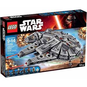 LEGO Star Wars Millennium Falcon 75105 Factory Sealed Napperby Port Pirie City Preview