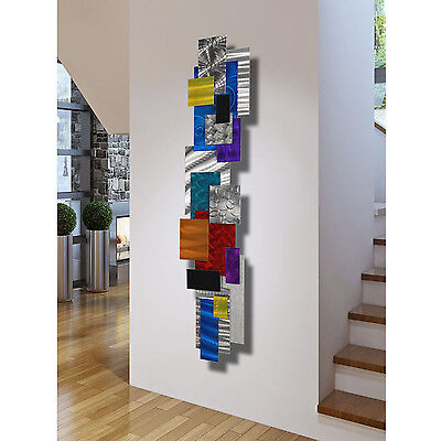 Sculptures Metal Painting Abstract Modern Home