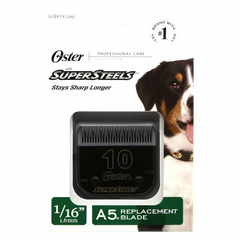 Oster Super Steels A5 Clipper Replacement Blade #10
