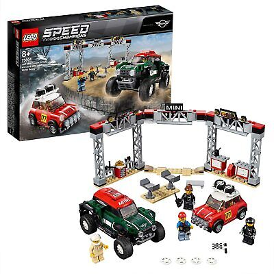 Lego 75894 Speed Champions Car- 1967 Mini Cooper S Rally and 2018 MINI J