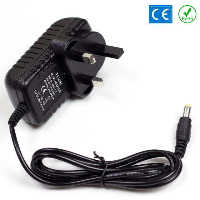 12v AC DC Power Supply For TC Helicon Voicelive 2 PSU UK Cable 2A CN