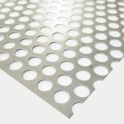 Galvanized Steel Perforated Sheet 0.028 X 24 X 48 12 Holes