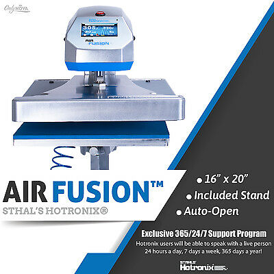 Stahls Hotronix 16x20 Swing Arm Xrf Air Fusion Stand Heat Press Free Shipping