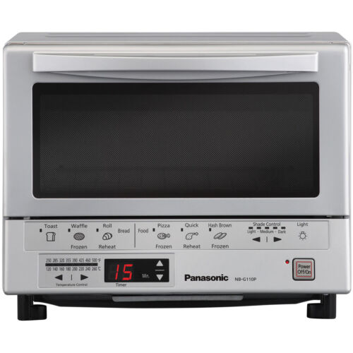 FlashXpress Silver Toaster Oven in Silver