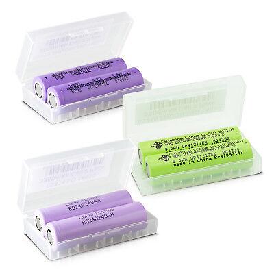 Li-Ion Akku 18650 / 2000 - 3350 mAh / 3,7V Akkubox für E-Zigarette E-Shisha usw. 3.7