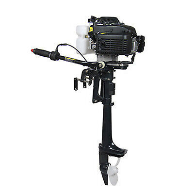 4 Stroke 4 Hp Outboard Air Cooling Engine Motor Fishing Boat Motor Used
