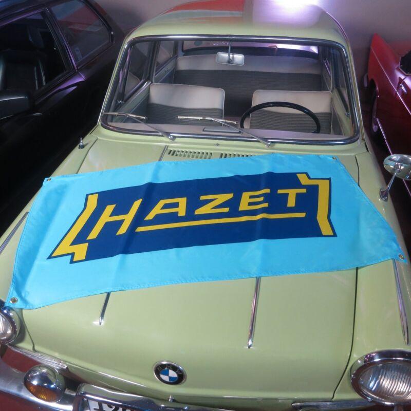 Hazet Flag Banner vw volkswagon kdf samba oval split bug porsche 356  bmw m3 E46