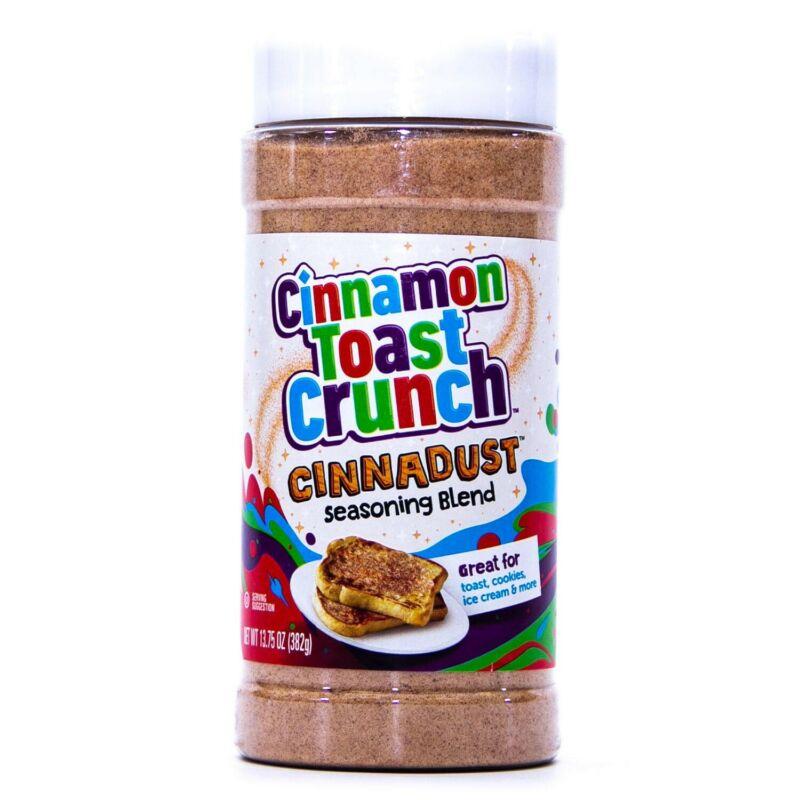 NEW! Cinnamon Toast Crunch CINNADUST Seasoning Blend (13.75 oz each) FREE SHIP!