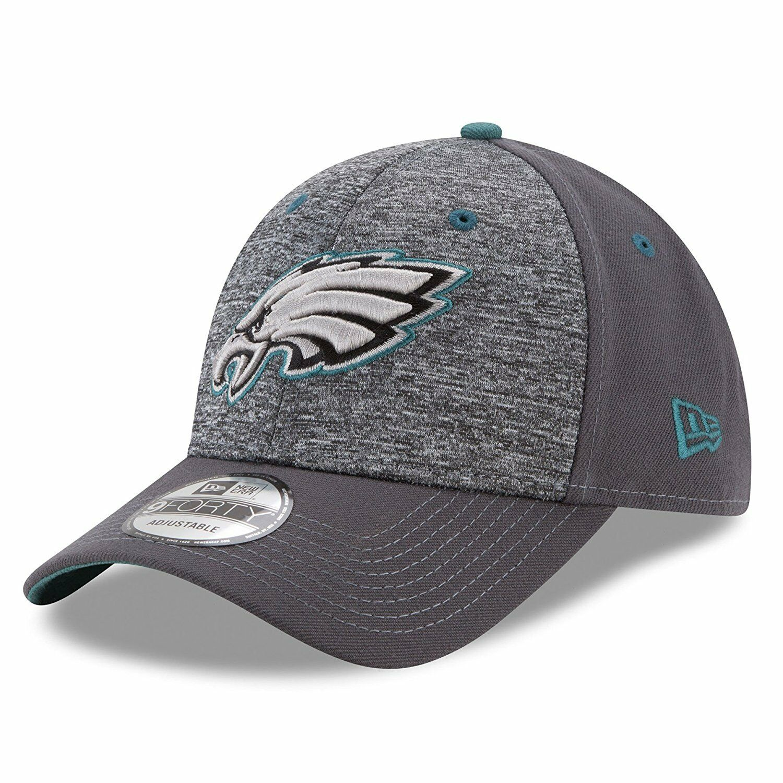 bc1ba3144e3 Philadelphia Eagles New Era The League Shadow 2 Adjustable Cap ...