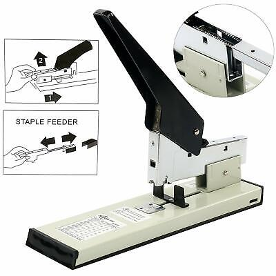 Heavy Duty Stapler 240 Sheets High Capacity With 1000 Box Staples Office Desktop