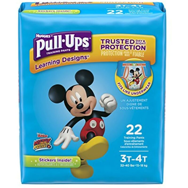 Pull-Ups Learning Designs Potty Training Pants for Boys, 22 Ct.