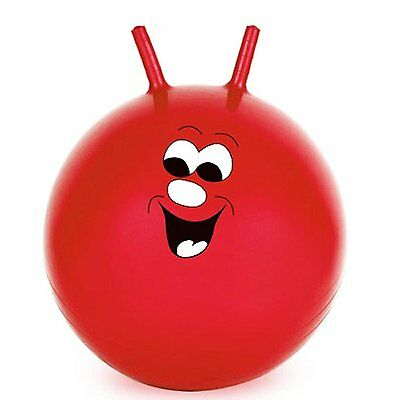 "60cm/24"" Children/Adult Space Hopper Jump & Bounce Indoor/Outdoor Toy In Red"