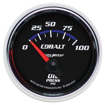 Autometer 6127 Cobalt Oil Pressure Gauge, 2-1/16 in., Electrical