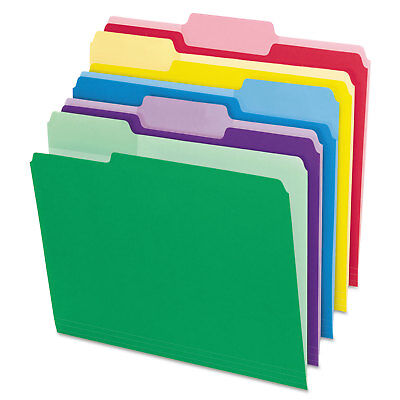 Pendaflex File Folders With Erasable Tabs 13 Cut Top Tab Letter Assorted 30
