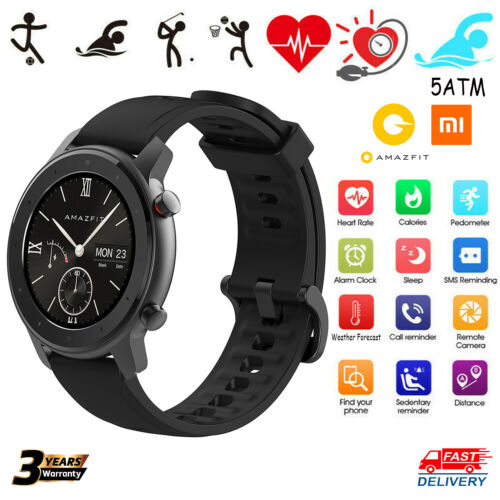 Xiaomi Amazfit GTR Lite Smart Watch Bluetooth Heart Rate Spo
