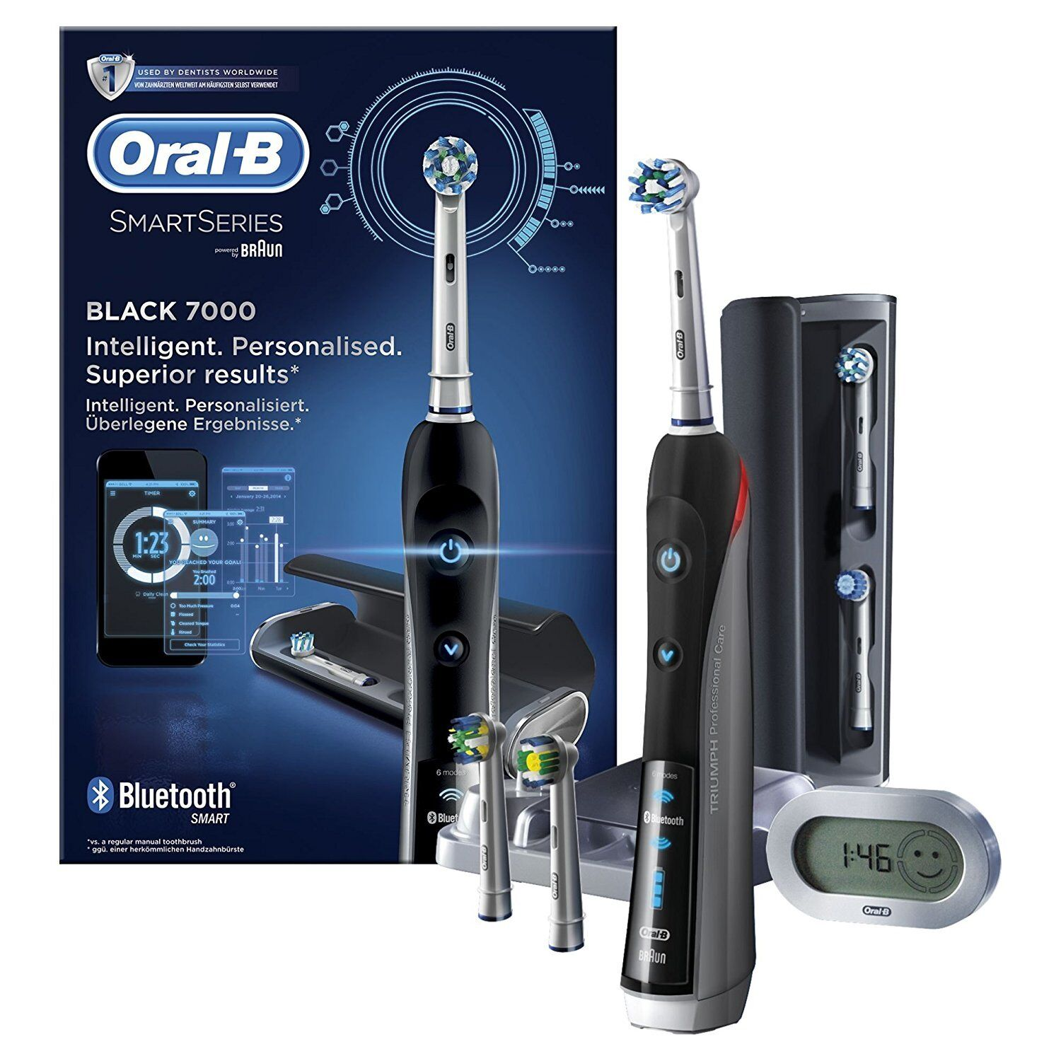 oral b pro 7000 smartseries electric rechargeable
