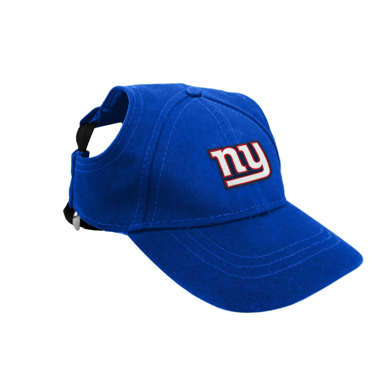 32ec65cf New York Giants NFL Licensed LEP Dog Pet Baseball Cap Hat Sizes S-XL ...