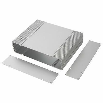 Aluminum Enclosure Electronic Project Diy Box Case F Pcb Amplifier 10x8x2.36