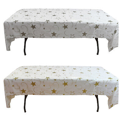 12 Plastic Party Table Cover-54