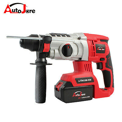 20v Sds Cordless Rotary Hammer Drill Brushless Demolition Electric Heavy-duty