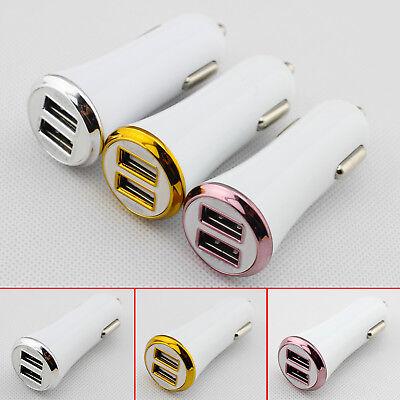 Car Truck Accessories Dual 2 Ports USB Mini Charger Adapter Parts Cigar Lighter
