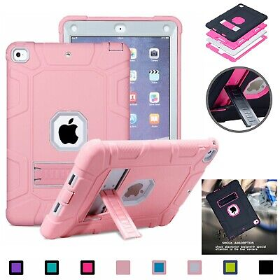 Kids Tough Case For iPad Mini 2 3 4 5th 6th Gen Air3 10.5 Heavy Duty Stand Cover