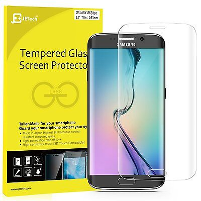 JETech Screen Protector for Samsung Galaxy S6 Worm Tempered Glass Film
