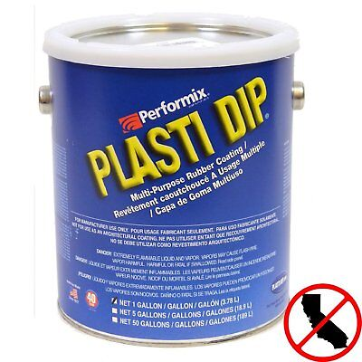 Performix 10101 Plasti Dip Red 1 Gallon