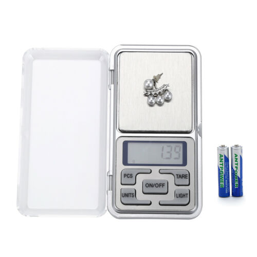 LCD Digital Scale 200g x 0.1g Jewelry Pocket Gram Gold Silver Coin Precise USA