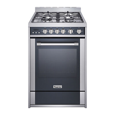 """Magic Chef MCSRG24S 24""""  2.7 cu. ft. Gas Range Convection Stainless Steel"""