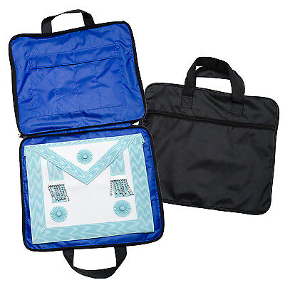 New Quality Lightweight Masonic Regalia Soft Case / Apron Holder Bag MM / WM