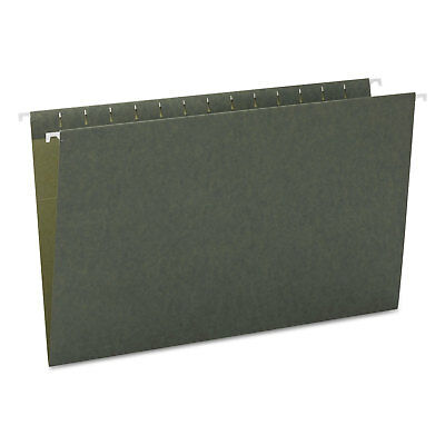 Smead Hanging File Folders Untabbed 11 Point Stock Legal Green 25box 64110