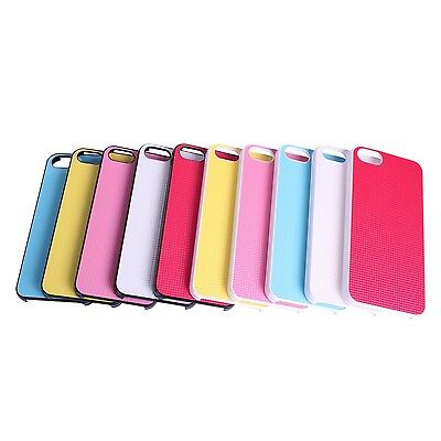 Ultra Thin Colorful Hard Case For Apple iPhone 5 5S - 3D Effect Checker Design - Effect Hard Case
