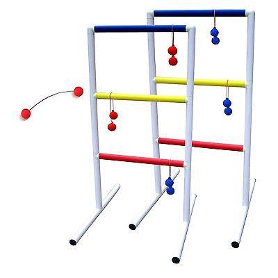 MD Sports Ladder Ball Toss Backyard Ladderball Indoor Outdoor Carry Case