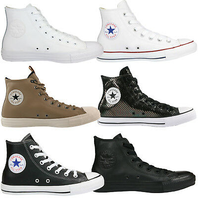 Converse Chuck Taylor All Star Leather Schuhe High-Top Sneaker Leder (Chuck Taylors High-top)