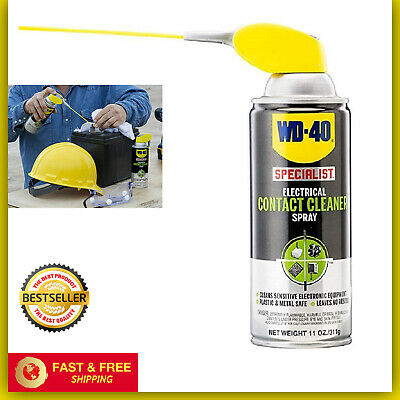 Wd 40 Specialist Electrical Contact Cleaner Spray Electronic Equipment 11 Oz