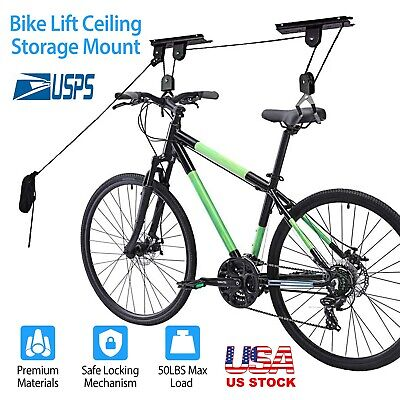 1X to 8X Steel Bike Rack Stand Storage Wall Mounted Hook Hanger Bicycle Holder