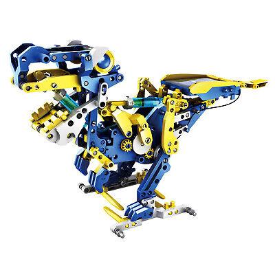 12-in-1 Solar Hydraulik Roboter 231-teilig Modellbau Spielzeug Bausatz