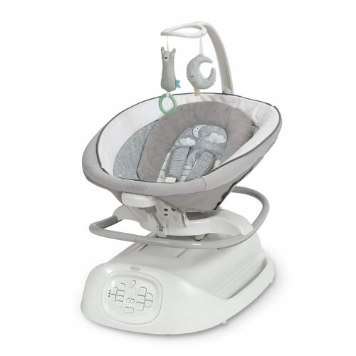 Graco Sense2Soothe Baby Swing with Cry Detection Technology, Sailor