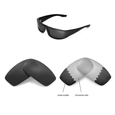Walleva Replacement Lenses for Spy Optic Cooper Sunglasses - Multiple (Spy Replacement Lenses)